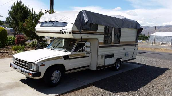 1983 Toyota Dolphin Motorhome For Sale In Clarkston Wa