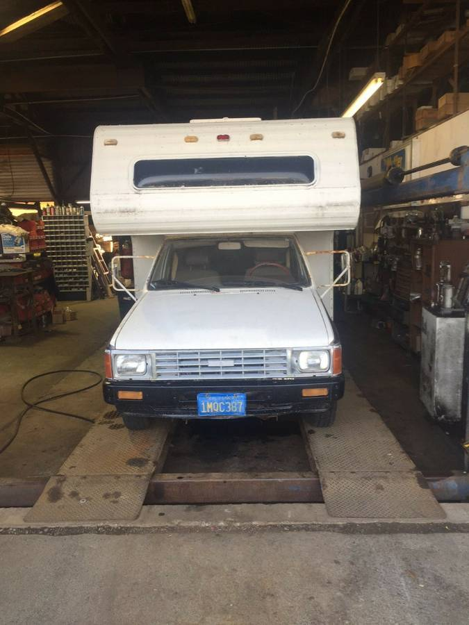 1985 Toyota Dolphin Motorhome For Sale in Crescent City ...