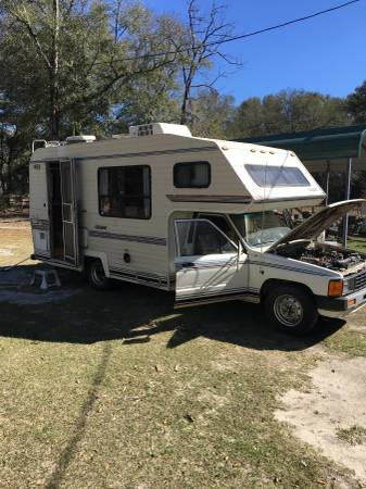 1986 Toyota Motorhome For Sale In Bonifay Fl