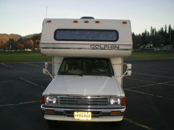 1987 Toyota Dolphin Motorhome For Sale In Grants Pass Or