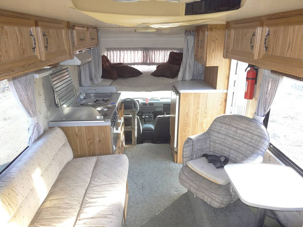 1988 Toyota Dolphin 22re Manual Motorhome For Sale In