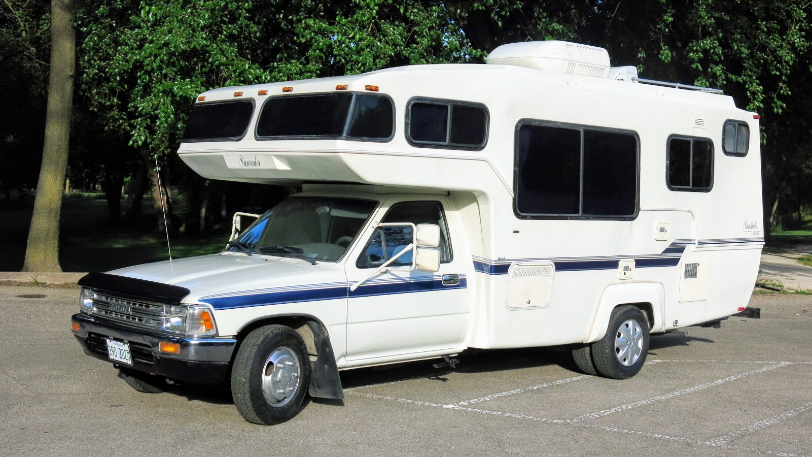 Motorhomes For Sale By Owner >> 1990 Toyota Sunrader 21 FT V6 Auto Motorhome For Sale in Morris, IL