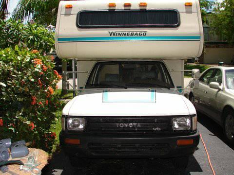 1991 Toyota Winnebago Warrior V6 For Sale In Margate