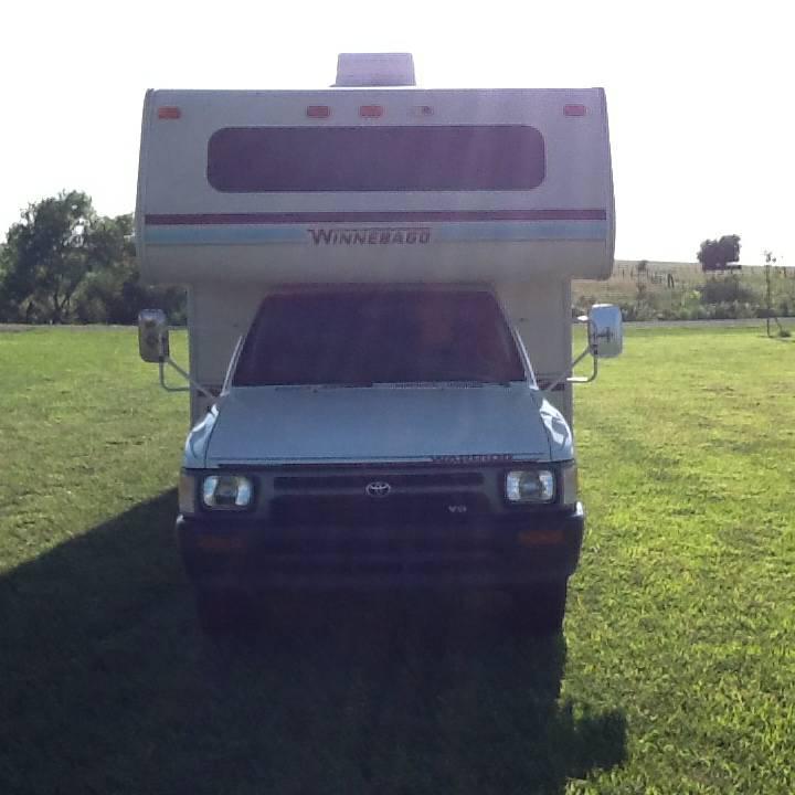 1992 Toyota Winnebago Motorhome For Sale In Topeka, KS