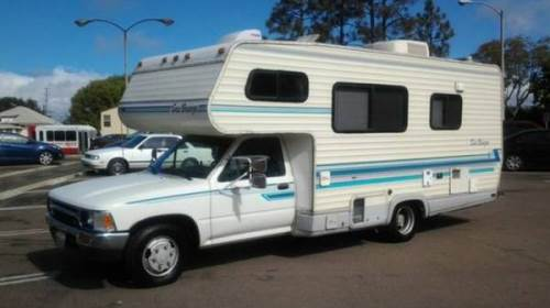 1993 Toyota SeaBreeze Motorhome For Sale in Bellflower ...