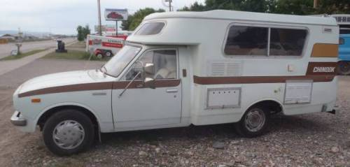 1977 Toyota Chinook Pop Up Camper Motorhome For Sale In