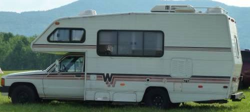 1987 Toyota Rv Winnebago 21ft Motorhome For Sale In