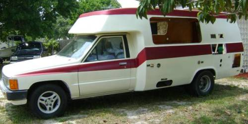 1987 toyota sunrader 4cyl motorhome for sale in psj