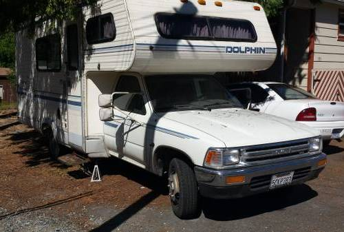 Toyota Motorhome For Sale Chinook Dolphin Sunrader
