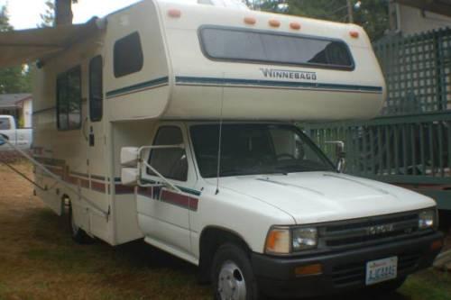 1992 Toyota Winnebago Warrior Motorhome For Sale In Yelm
