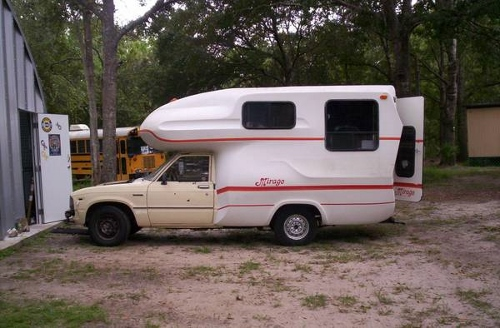 1983 toyota mirage motorhome for sale in bryceville florida. Black Bedroom Furniture Sets. Home Design Ideas