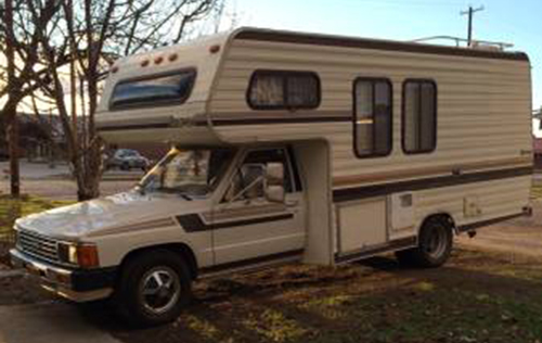 1987 Toyota Dolphin Motorhome For Sale In Minneapolis Mn