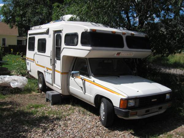 1983 Toyota Sunrader Motorhome For Sale in Boulder Colorado