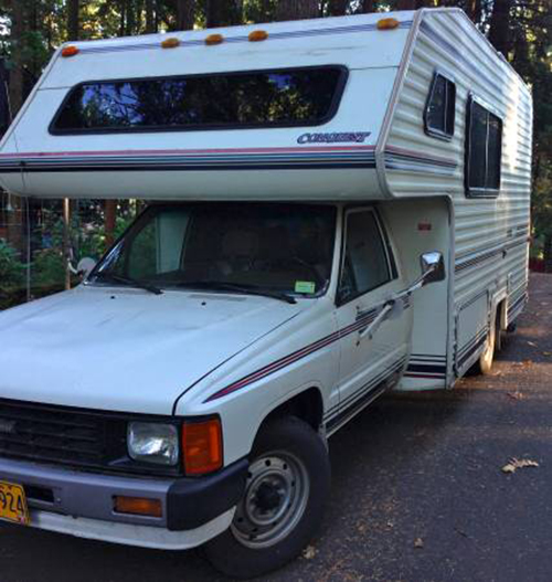 Used Toyota Campers For Sale: 1985 Toyota Motorhome For Sale In Oklahoma City Oklahoma