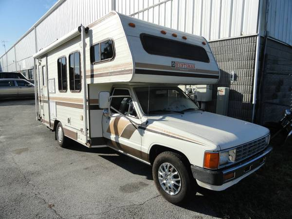 Rv For Sale Ny >> Toyota Motorhome For Sale: Chinook, Dolphin, Sunrader, Craigslist Used