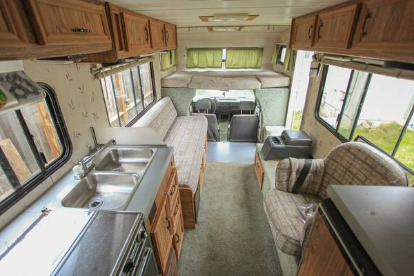 1987 Toyota Dolphin Motorhome For Sale In Mckinleyville