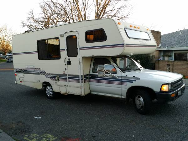 1992 Toyota Winnebago Motorhome For Sale In Redding CA