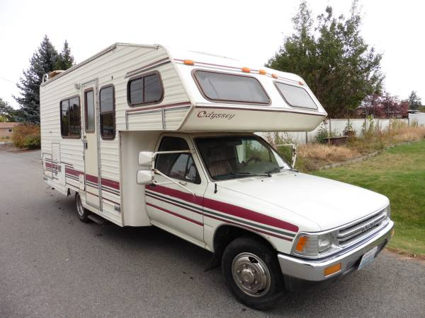 1992 Toyota Odyssey Motorhome For Sale In Spokane Valley