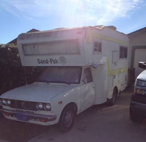 Used Toyota Campers For Sale: 1978 Toyota SandPak Motorhome For Sale In Lompoc CA