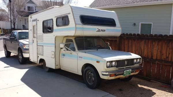 1978 Toyota Dolphin Motorhome For Sale in Western Slope CO