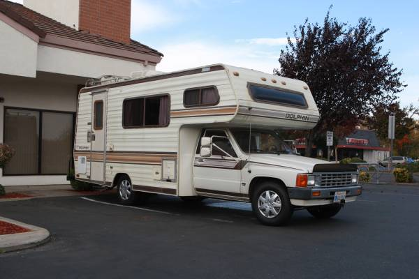 1985 Toyota Dolphin Motorhome For Sale in Merced CA