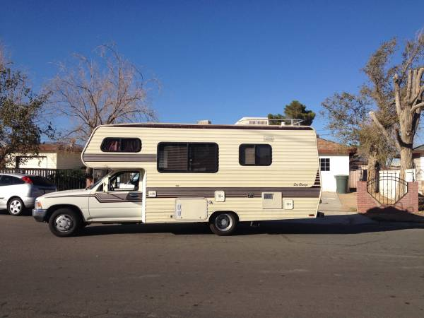 1989 Toyota Seabreeze Motorhome For Sale In Mojave Ca