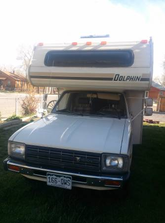22re Engine For Sale >> 1982 Toyota Dolphin Motorhome For Sale in Pueblo CO