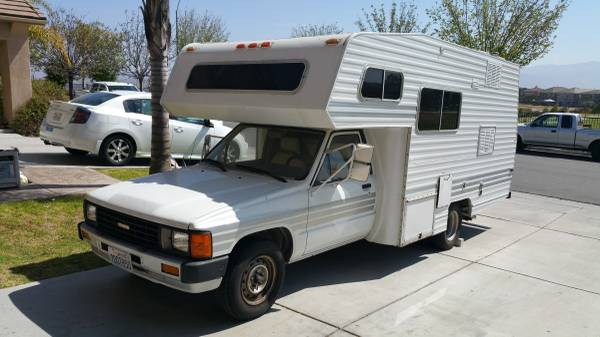 Royal South Toyota >> Toyota Motorhome For Sale: Chinook, Dolphin, Sunrader, Craigslist Used