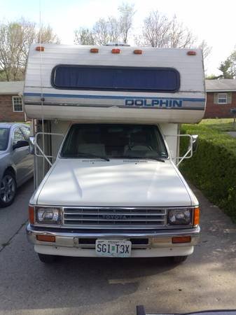 1987 Toyota Dolphin Motorhome For Sale in St. Louis MO