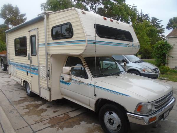 1991 Toyota Sea Breeze Motorhome For Sale in Fresno CA