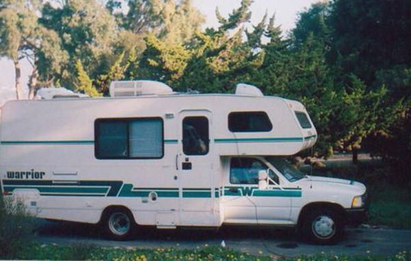 1991 Toyota Winnebago Motorhome For Sale In Santa Barbara Ca