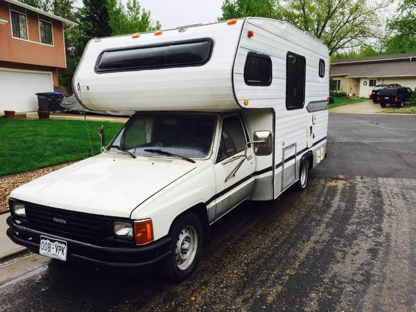 1986 Toyota Dolphin Motorhome For Sale in Denver CO