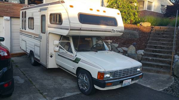 1984 Toyota Dolphin Motorhome For Sale In Port Angeles Wa