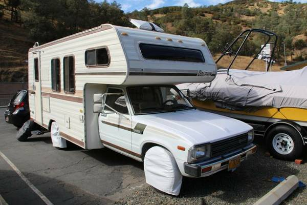 1983 Toyota Dolphin Motorhome For Sale in Napa, California