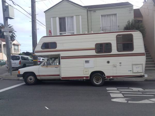 1985 Toyota New Horizon Motorhome For Sale In Bayview Ca