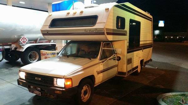 1987 Toyota Winnebago Motorhome For Sale In Seattle Wa