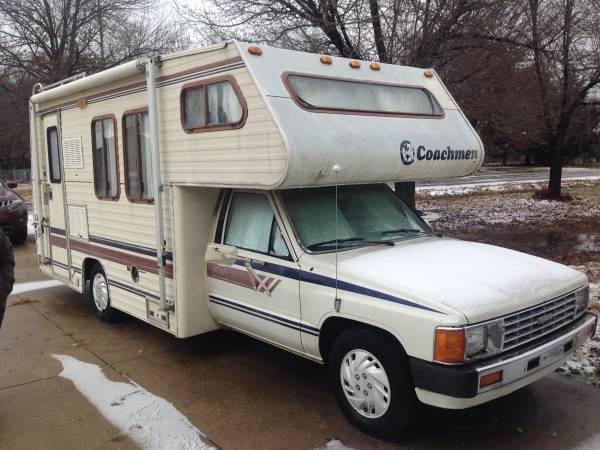 1986 Toyota Coachmen Motorhome For Sale in Broken Arrow, OK
