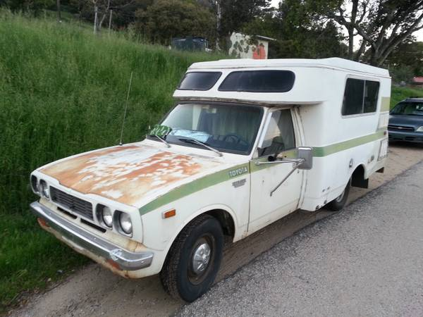 1974 Toyota Chinook Motorhome For Sale in Aptos, California