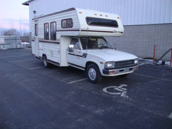 1983 Toyota Dolphin Motorhome For Sale In Appleton Wi