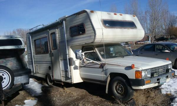 1986 Toyota Dolphin Motorhome For Sale in Grand Junction, CO