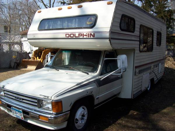 Campers For Sale In Mn >> 1987 Toyota Dolphin Motorhome For Sale In Minneapolis Mn