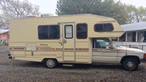 1987 Toyota OdesseyMotorhome For Sale in Western Slope, CO