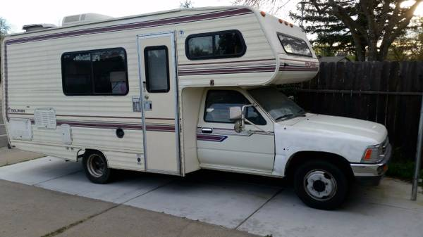 Toyota Tyler Tx >> 1989 Toyota Dolphin Motorhome For Sale in Citrus Heights, CA