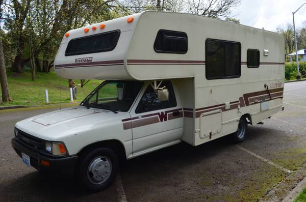 Toyota Of Burien >> 1990 Toyota Winnebago Warrior Motorhome For Sale in Yreka, California