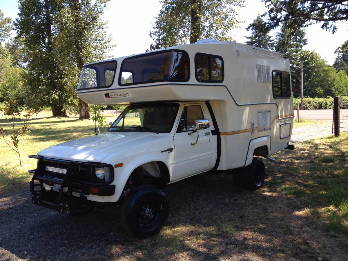 1982 toyota sunrader motorhome for sale in portland  or