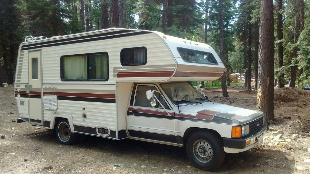 1984 Toyota Sun Land Express Motorhome For Sale In Reno Nv