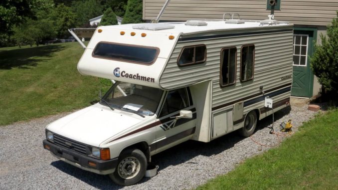 1985 Toyota Coachman Motorhome For Sale In Cobleskill Ny