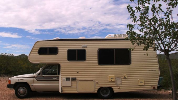 1987 Toyota Dolphin Motorhome For Sale In Tombstone Az