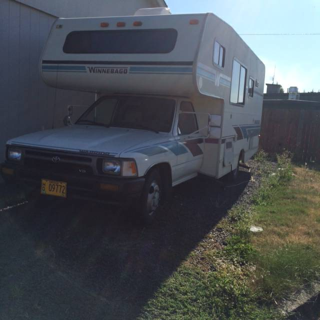Used Toyota Campers For Sale: 1993 Toyota Winnebago Motorhome For Sale In Lebanon, OR