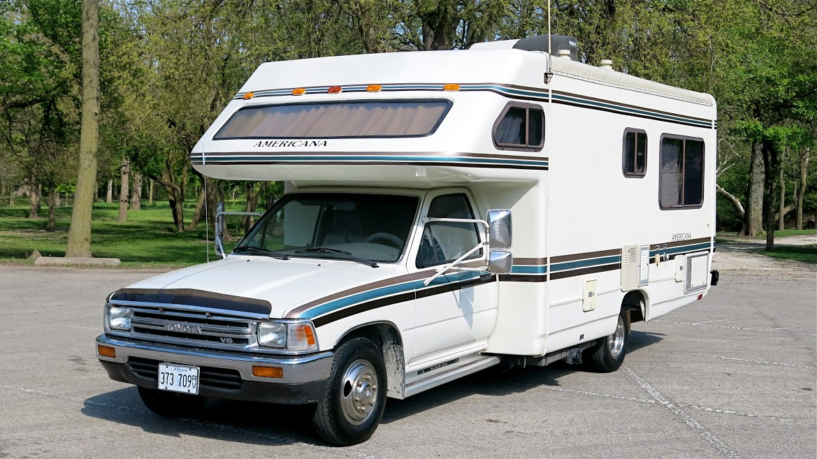 1990 toyota odyssey americana motorhome for sale in morris il